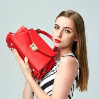 【春夏新品惠】新款欧美真皮女包牛皮包包单肩包手提包箱包