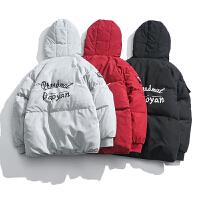 棉衣男士冬季新款面包服韩版日系潮外套boy短款棉服大码袄子