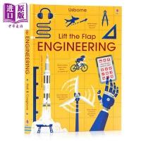 【中商原版】尤斯伯恩看里面:揭秘工程 Lift the Flap Engineering 翻翻书 亲子绘本 儿童科普绘本