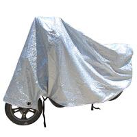车罩 车衣 防雨罩 摩托车电动车自行车助力车防晒遮阳F银色