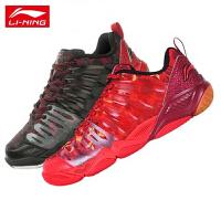 李宁LI-NING 新款羽毛球鞋 男鞋正品透气运动鞋防滑超轻训练鞋