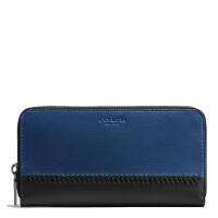 【当当自营】蔻驰(COACH)时尚男士新款拼色手拿包钱包卡包  F58105