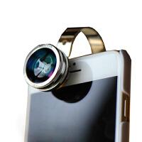 手机镜头 martube手机镜头广角微距鱼眼三合一摄像头广角通用单反