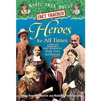 英文原版Magic Tree House Fact Tracker #28: Heroes for All Times,神奇树屋小百科系列28:英雄时代,ISBN=9780375870279