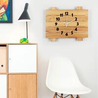 挂钟客厅个性创意时尚现代简约家用大气北欧静音时钟石英钟表