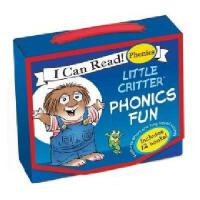 Little Critter Phonics Fun(My First I Can)英文原版小怪物自然拼读法 汪培�E推