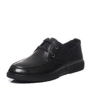 Teenmix/天美意2017夏季专柜同款牛皮系带鞋男休闲鞋男鞋3CK0TBM7