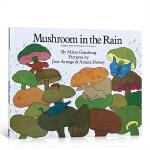 顺丰发货 百本需读推荐书单 Mushroom in the Rain 雨中的蘑菇 英文原版进口绘本 儿童启蒙全彩平装故