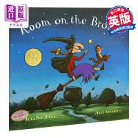 【中商原版】女巫扫帚排排坐 英文原版 Room on the Broom Big Book 地板书 名家绘本