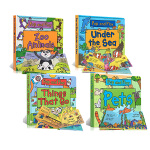 英文原版 Pop and Play 4册 Pets/Zoo Animals/Under the Sea/Things