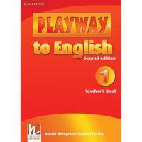 【预订】Playway to English, Level 1