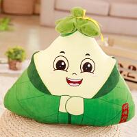 创意可爱大粽子抱枕公仔布娃娃玩偶端午节活动礼物仿真