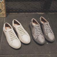 CUM 春季青年男款休闲鞋英伦男士休闲鞋复古潮流板鞋男皮鞋子