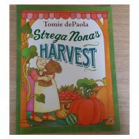 英文绘本 Strega Nona's Harvest 巫婆奶奶的收获 凯迪克大奖
