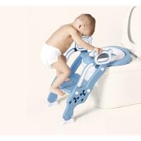 儿童坐便器马桶圈梯宝宝小孩训练可折叠婴幼儿男女通用大号