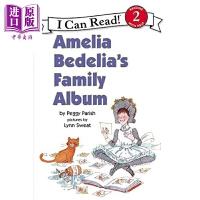 【中商原版】I Can Read Level 2 我可以读2级 糊涂女佣阿米莉亚的家庭 Amelia Bedelia 儿