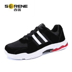 西瑞低帮运动鞋男透气网面鞋时尚休闲男鞋子学生跑步鞋ZC5858