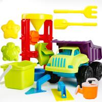 挖沙漏铲子工具决明子婴儿玩具 儿童沙滩玩具车套装大号宝宝玩沙子