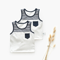 婴儿背心儿童套装男夏婴儿衣服 宝宝夏装 男童t恤套男童夏装