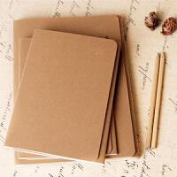牛皮纸笔记本文具 线装车线本记事本子 学生作业本办公用品
