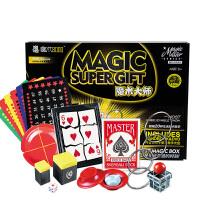 幼儿童近景舞台玩具礼物礼品进阶魔术道具大礼盒套装