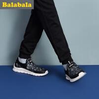【每满200减100】巴拉巴拉童鞋男童女童运动鞋2018春夏新款中大童透气鞋子儿童跑鞋
