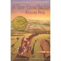 【现货】英文原版 A Year Down Yonder 背井离乡的365天 青少读物 纽伯瑞获奖作品 假期读物推荐