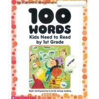 【现货】英文原版100 Words Kids Need to Read by 1st Grade 一年级学生应读的10