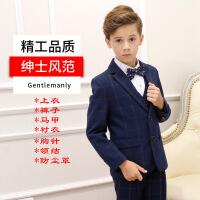 男童西装套装2018新款韩版帅气儿童礼服男小主持人服装宝宝西装秋
