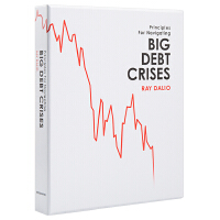 【中商原版】大债务危机(华尔街对冲基金桥水创始人Ray Dalio 新书)英文原版 Big Debt Crises 经济金融投资