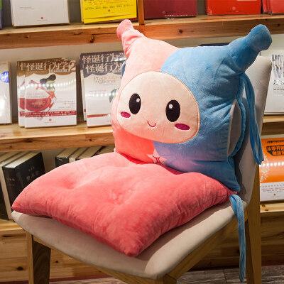 凳子椅子垫子坐垫靠垫一体学生椅垫屁股垫办公室教室冬季毛绒厚