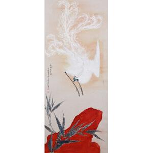 Y085张善�I  《仁风披丹岗》(瀚海四季(第93期)拍卖会作品Lot0373)