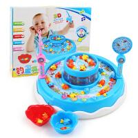 儿童鱼玩具池套装宝宝玩具磁性电动戏水大号1-3-6周岁