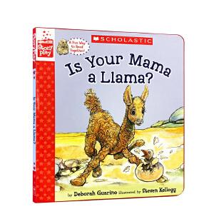 英文原版 Is Your Mama a Llama? 你的妈妈是驼羊吗 廖彩杏推荐书单精装 亲子阅读幼儿启蒙教育温馨母爱睡前故事 3-6岁