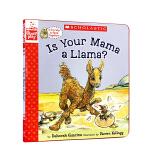 英文原版 Is Your Mama a Llama? 你的妈妈是驼羊吗 廖彩杏推荐书单精装 亲子阅读幼儿启蒙教育温馨母
