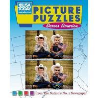 【预订】USA Today Picture Puzzles Across America