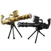 户外玩具手摇加特林水晶弹枪手动电动连发水弹软弹枪