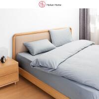 1.8米床水洗棉四件套床单款 Heilan Home/海澜优选生活馆