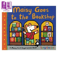 【中商原版】小鼠波波系列 Maisy Goes to the Bookshop 小鼠波波去书店 低幼早教认知启蒙 平装