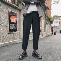 长裤子男韩版青少年直筒潮流ins休闲裤潮秋冬季新款男士工装西裤