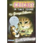 【发顺丰】英文原版 时代广场的蟋蟀 The Cricket in Times Square 纽伯瑞银奖 8-12岁进阶