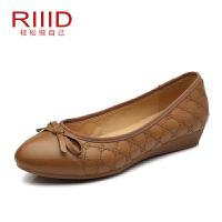 Riiid女单鞋 平底浅口妈妈鞋
