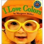 【正版直发】I Love Colours (Look Baby Books) Margaret Miller 9780