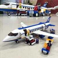 小鲁班拼装玩具颗粒积木塑料拼插飞机模型儿童益智力男孩女孩组装