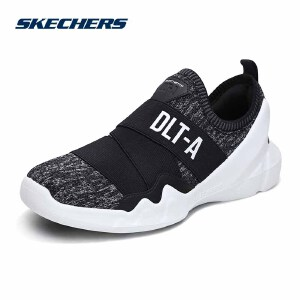 Skechers斯凯奇情侣男女新款DLT-A一脚套 懒人街潮熊猫鞋休闲鞋 88888156