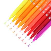 得力描线笔水彩笔彩色笔可水洗儿童彩笔套装绘画涂鸦儿童文具 12/24色70691