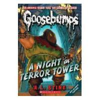 英文原版儿童书 CLASSIC GOOSEBUMPS #12:A Night in Terror Tower 鸡皮疙瘩