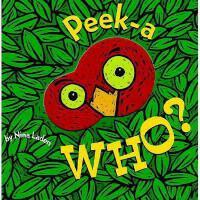 现货  Peek-A-Who? 进口英文原版 猜猜我是谁