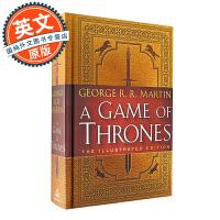 冰与火之歌 权力的游戏1 英文原版 20周年纪念版 插图版A Game of Thrones Illustrated