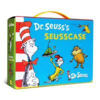 英文原版绘本 Dr Seuss's 苏斯博士10本盒装 Green Eggs and Ham/The Cat in th
